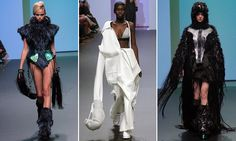 Cuffs made from hair and giant boxing gloves among trends at MSFW