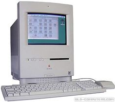 "Apple Macintosh Color Classic (aka Performa 250) had same footprint as the original Macintosh. It was the first mac using a 10"" (9"" viewable) colour monitor (Sony CRT) and the last of the original all-in-one Macintosh line to be sold in the US market."