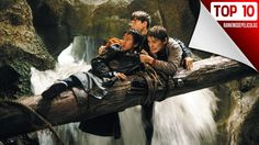 The Goonies - Publicity still of Sean Astin, Jonathan Ke Quan & Corey Feldman. The image measures 3012 * 2025 pixels and was added on 8 August 80s Movies, Action Movies, Movies To Watch, Good Movies, Childhood Movies, Halloween Movies, Christmas Movies, Halloween Crafts, Christmas Time