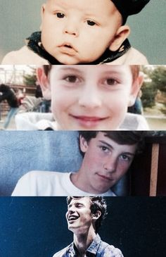 Shawn Mendes through the years! Happy 19th Birthday, 19 Birthday, Baby Boys, Do You Know The Muffin Man, Kids In Love, Shawn Mendes Memes, Mendes Army, Shawn Mendes Wallpaper, Magcon