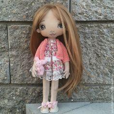 Купить Оливия. Коллекционная кукла ручной работы - розовый, коллекционная кукла, кукла ручной работы ♡