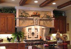 Fresh Tuscan theme Kitchen Decor