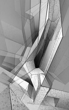 Painting/Digital Works | Derek Kaplan | Archinect