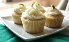 key lime cupcakes by msochic
