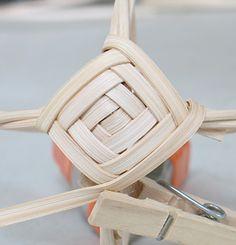 God's eye tutorial basket weaving basket making baskets