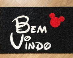 Capacho - Bem Vindo (Escrita Disney)