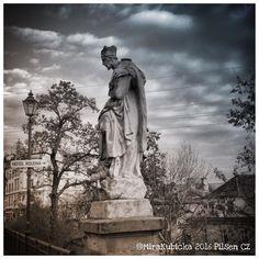 Pilsen Czech Republic #heritage #history #house #street #2016 #plzen #plzeň #pilsen #statue #sculpture #santa #saint #bridge #art #architecture #old #cz #czech #czechia #czechrepublic #české #česko #českárepublika #world #DiscoverCZ