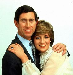 Prince Charles & Lady Diana Spencer 1981