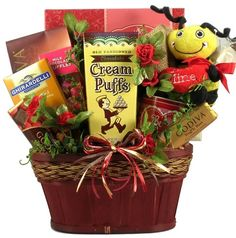 Love Bug, Valentine's Day Gift Basket