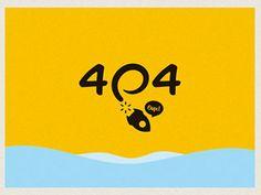 58 Creative Error Page Design Examples   Bashooka   Web & Graphic ...