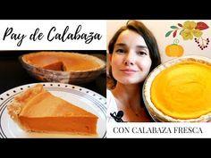 Pay de Calabaza 🎃  Pumpkin Pie  Con calabaza natural 🍁 Especial Thanksgiving  Es con Acento  - YouTube Thanksgiving, Pumpkin, Fall, Autumn, Natural, Ethnic Recipes, Desserts, Youtube, Gastronomia