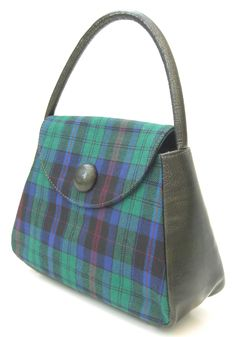 Welsh Phillips Tartan Handbag Tartan Fabric ed068aac1f75b