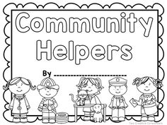 picture relating to Community Helpers Printable Book identified as 9 Ideal Social Experiments photographs inside 2017 Social experiments