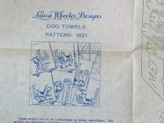 Vintage Iron on Transfer Pattern by Laura by TheRustyNailPail