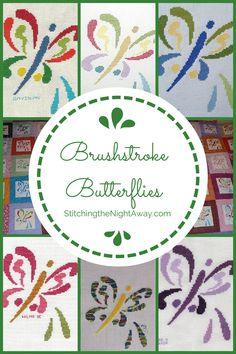 Brushstroke Butterflies Gallery Images
