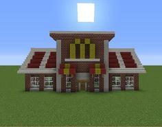 Minecraft McDonald's Restaurant