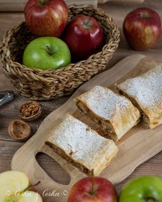 Desert Recipes, Food Styling, Bread, Apple, Cookies, Fruit, Blog, Apple Fruit, Crack Crackers