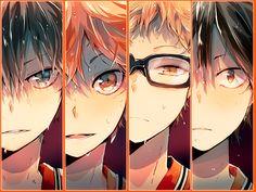 Haikyuu!! http://pyayaya.tumblr.com/post/94952794925 <<<< this art style is AMAZING
