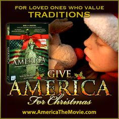Christmas Tradition #16: Rudolph the Red-Nosed Reindeer. Facebook Christmas campaign for the Dinesh D'Souza film, AMERICA: Imagine the World Without Her.