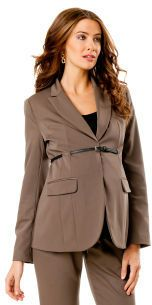 Apeainthepod Belted Bi-stretch Suiting Maternity Jacket on shopstyle.com