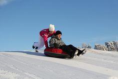 Snow sliding by VisitLakeland, via Flickr Winter Fun, Winter Activities, Cowboy Hats, Snow, Eyes, Let It Snow