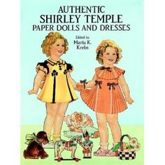 Authentic Shirley Temple Paper Dolls and Dresses (Dover Celebrity Paper Dolls) (Paperback)  http://www.amazon.com/dp/0486266109/?tag=freedocu-1  0486266109