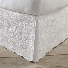Quilted Bed Skirt by Birch Lane