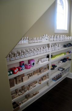 Build your own shelves, I love it!                                                                                                                                                                                 More