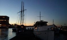 At the center for wooden boats/ MOHAI Seattle to see the fireworks.