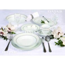Komplet obiadowy Baron Silver 43-elementowy AMBITION