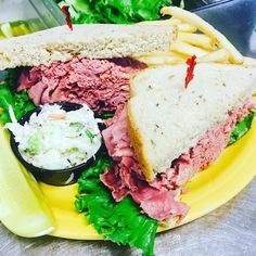 Have you ever tried our Corned Beef Sandwich??? What's your favorite sandwich for lunch at Mel's?  #MelsDiner #SWFL #American #Restaurant #Diner #Breakfast #Brunch #Lunch #Dinner #DinerFood #Desserts #Drinks
