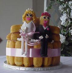 Twinkie grooms cake... lol