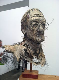 Mindy Alper sculpture.