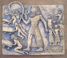 The giant Gilgamesh, the fifth king of the Sumerian city of Uruk. he looks pretty damm tall to me. Aliens And Ufos, Ancient Aliens, Ancient Egypt, Ancient History, Ancient Mesopotamia, Ancient Civilizations, Ancient Mysteries, Ancient Artifacts, World History