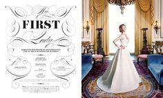 ★ DESIGN ARMY – Washingtonian Bride & Groom: My First Lady (Editorial Design and Art Direction) © Design Army LLC
