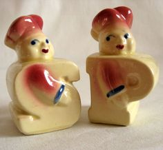 Vintage Shawnee Salt & Pepper