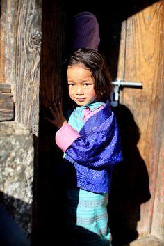 Precious little one in Bhutan
