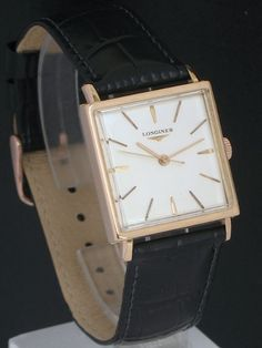 STUNNING SOLID 18CT ROSE GOLD LONGINES OVERSIZE CALIBRE 280 MENS VINTAGE WATCH C1959