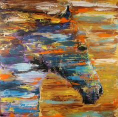 Horse Painting $425 - DALLAS http://furnishly.com/catalog/product/view/id/2486/s/horse-painting/