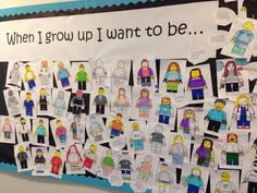 'When I Grow Up' with any key stage. Lego people to complete.