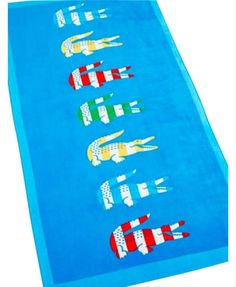 Beach Toys, Bath Towels, Lacoste, Baby Blue, Crocs, Scarf Wrap, Collection, Bed