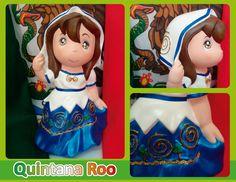 Traje típico de Quintana Roo -  Quintana Roo regional costume