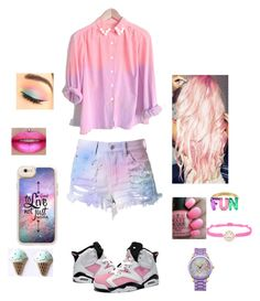 """💚💦💖💜💛💙💍 colorful kid"" by official-bria-j ❤ liked on Polyvore featuring Maybelline, Retrò, Casetify, OPI, Kate Spade, Accessorize and Picard & Cie"