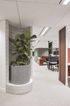 Commercial Interior Design, Office Interior Design, Commercial Interiors, Office Interiors, Interior Styling, Interior Ideas, Pastel Interior, Interior Sketch, Simple Interior