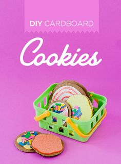 Bright DIY Cardboard Cookies To Make With Kids Kidsomania Creative Activities For Kids, Kids Fun, Preschool Ideas, Fun Activities, Teaching Ideas, American Girl Kitchen, Diy Toys And Games, Fun Crafts, Crafts For Kids