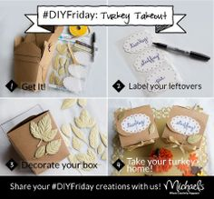 Thanksgiving Leftovers Boxes DIYFriday