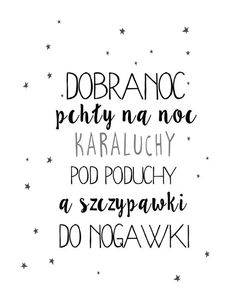 Projektowanie graficzne dla dużych i małych Newborn Room, Polish Language, Baby Posters, Poster Pictures, Brush Lettering, Word Art, Cute Drawings, Diy For Kids, Printable Wall Art