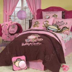 Bobby Jack the Monkey Bedding and Bedroom Decor