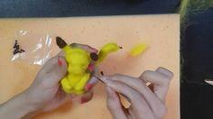 DIY Needlefelting - Here's how to make Pikachu