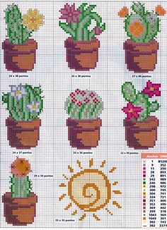 Thrilling Designing Your Own Cross Stitch Embroidery Patterns Ideas. Exhilarating Designing Your Own Cross Stitch Embroidery Patterns Ideas. Cactus Cross Stitch, Cross Stitch Love, Cross Stitch Flowers, Cross Stitch Designs, Cross Stitch Patterns, Loom Patterns, Cactus Embroidery, Embroidery Patterns, Cross Stitching